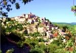 French Hilltop Village France