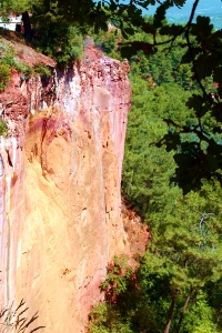 Rousillon Cliffs