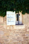 Shuutered Window Stone House France