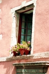 Pink Walls Casement Window